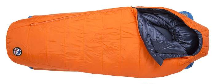 Big Agnes Lost Dog 15 Degree Sleeping Bag.