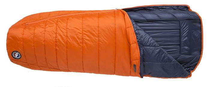 Big Agnes Lost Dog 45 Degree Sleeping Bag.