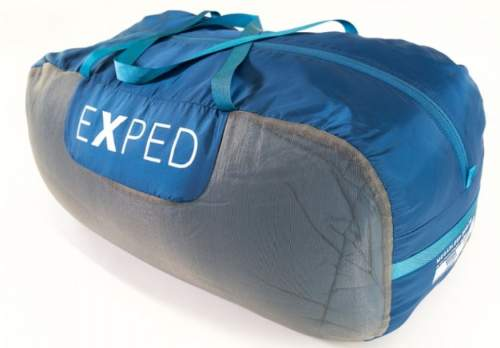 Exped MegaSleep Duo in the carry bag.