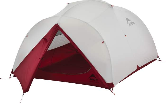 MSR Mutha Hubba NX 3 person tent.
