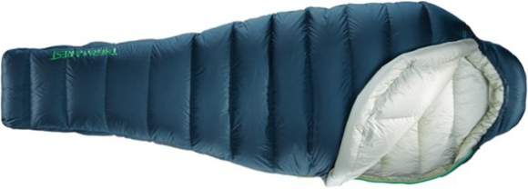 Therm-A-Rest Hyperion 20 UL Sleeping Bag top view.