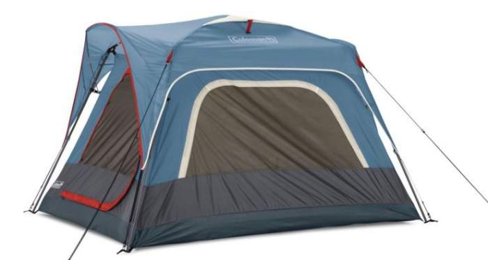 Coleman 3-Person Connectable Tent side view.