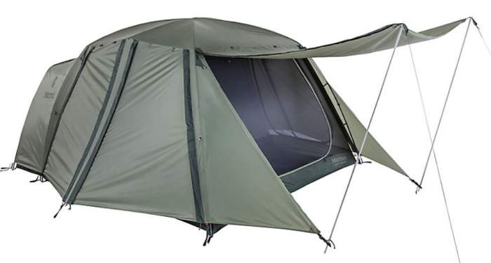 Marmot Guest House 4 Person Tent.