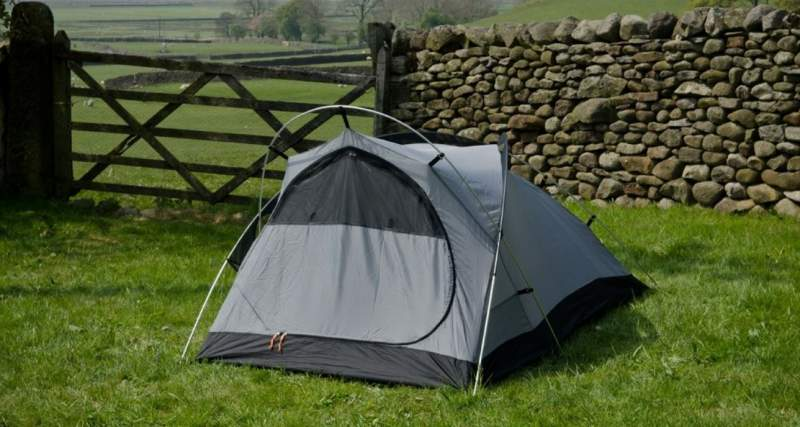 The Journey Duo Tent shown without the fly.