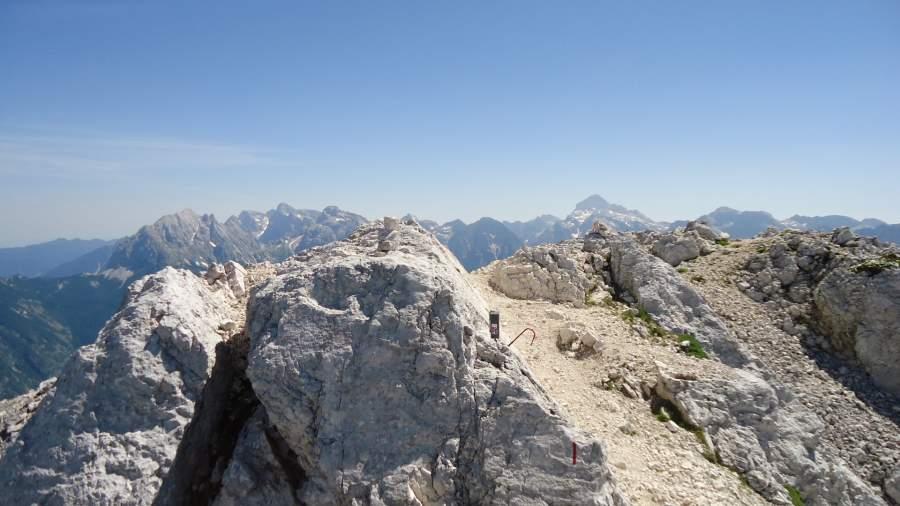 Bavski Grintavec summit.