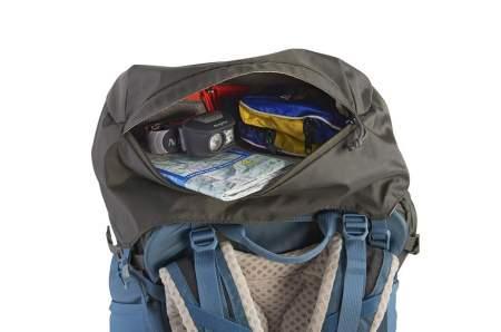 Large lid pocket.
