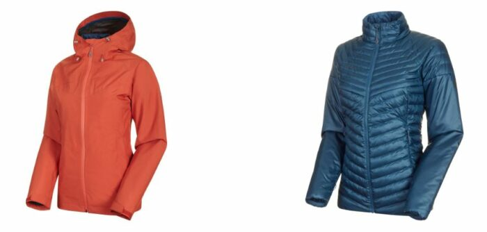 Mammut Convey 3 in 1 HS Hooded Jacket for Women.