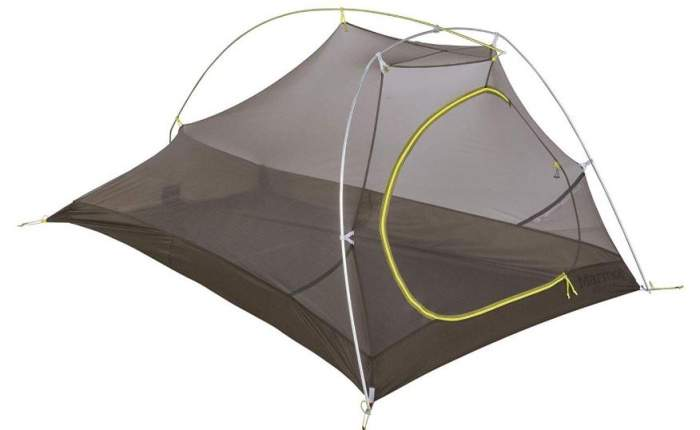 The Marmot Bolt 2P shown without the fly.