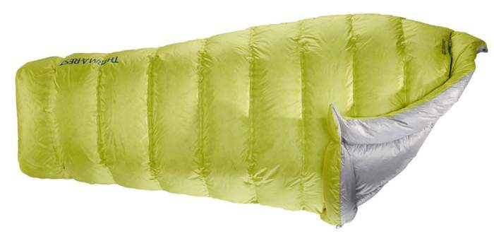Therm-a-Rest Corus 32-Degree Down Quilt.