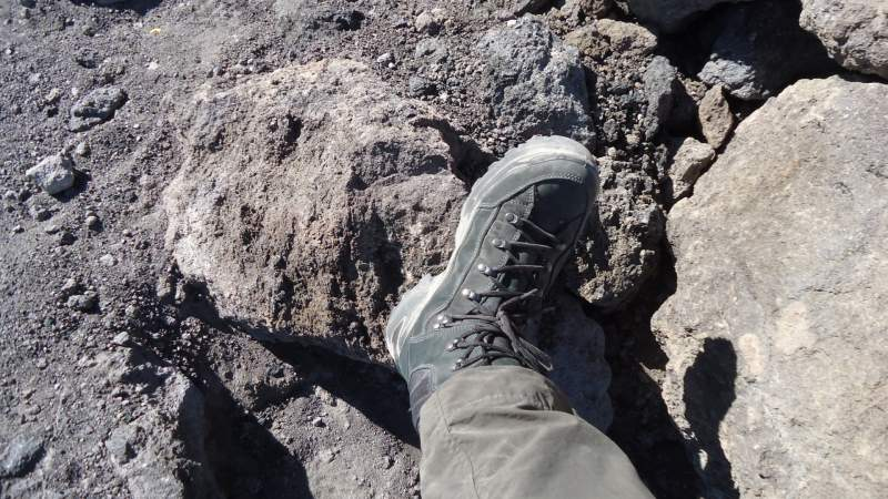 The Lowa Boots used on El Teide tours.
