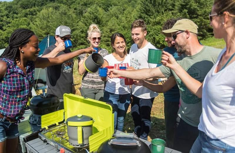 Eureka! Camp Café Camping Coffee Maker Review.