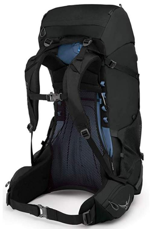 Two ladders on the sides in Osprey Rook and Renn packs.