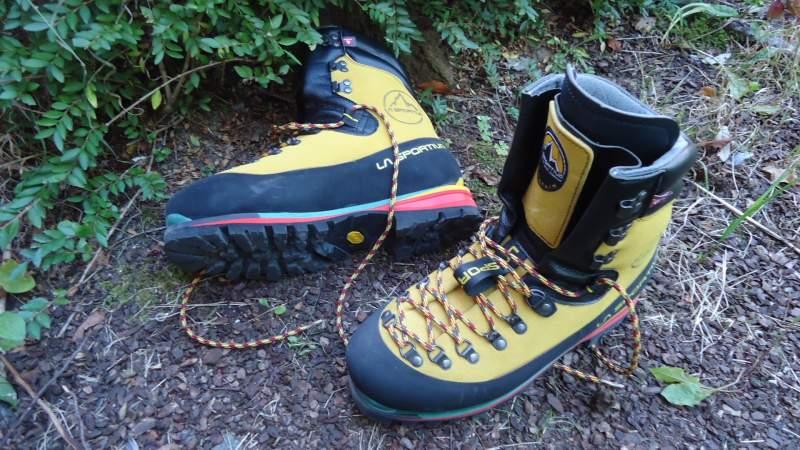 My new boots - La Sportiva Nepal Extreme.