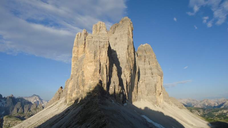 View from Forcella Lavaredo.