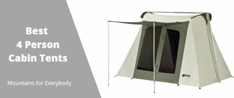 Best 4 Person Cabin Tents.
