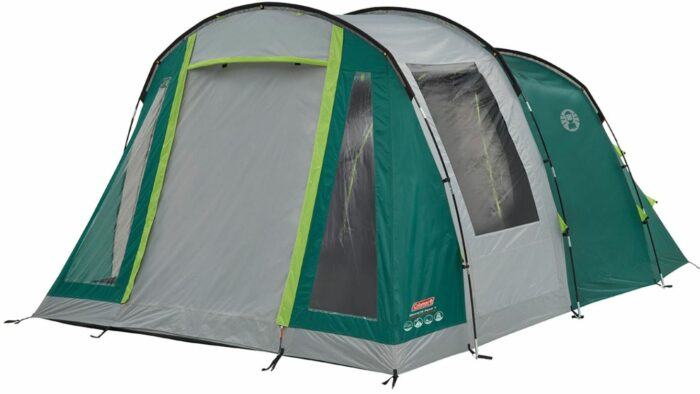 This is the tent used without the awning.