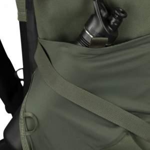 Side stretch pocket.