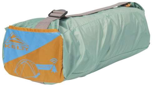 This is the Wireless 4 tent packed.