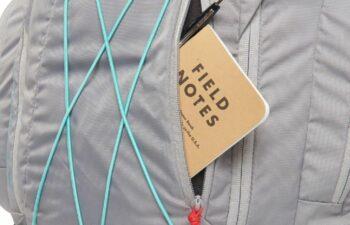Front zippered pocket.