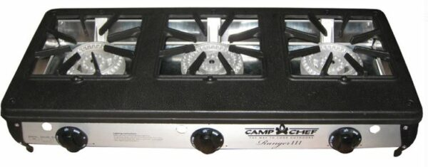 Camp Chef Ranger III Table Top Stove.