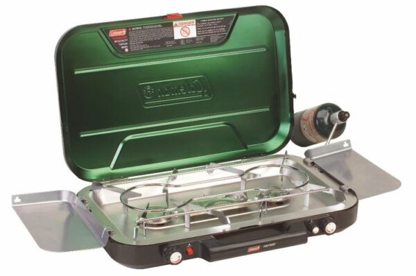Coleman Even-Temp Propane Stove 3-Burner.