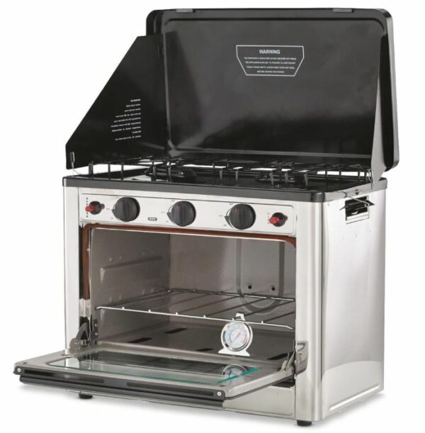 Stansport Propane Outdoor Camp Oven and a 2 Burner Range.