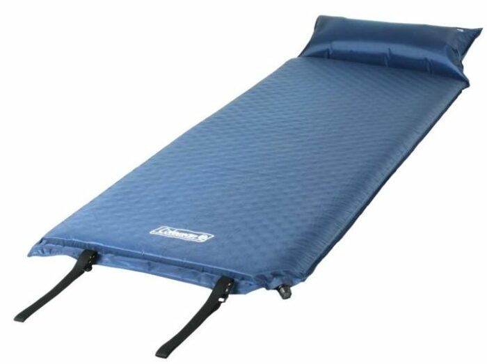 Coleman Self-Inflating Camping Pad with Pillow.