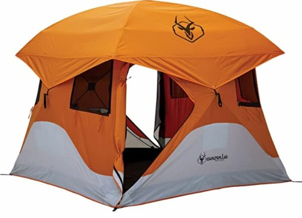 Gazelle T4 Pop up Portable Camping Hub Tent 4 Person