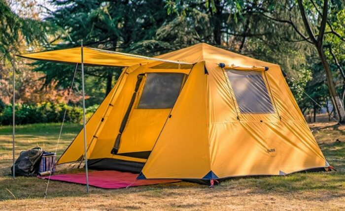 KAZOO Family Camping Tent 4 Person Saturn.