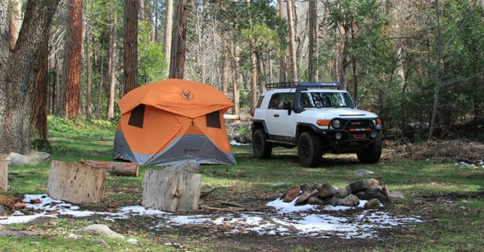 This is a car camping tent.
