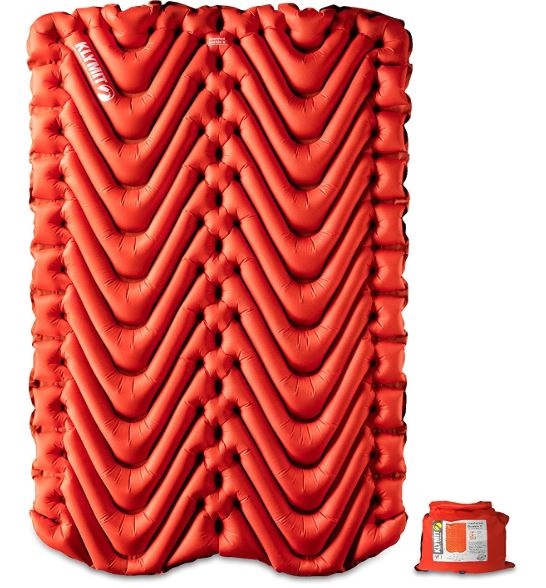 Klymit Insulated Double V Sleeping Pad.
