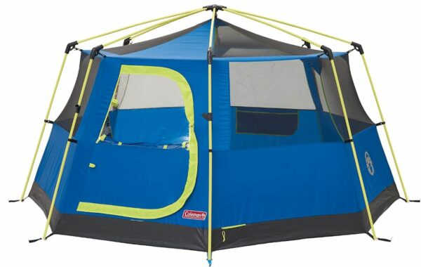 Coleman Octago tent shown without fly.