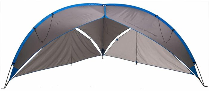 ALPS Mountaineering Tri-Awning Elite front view.