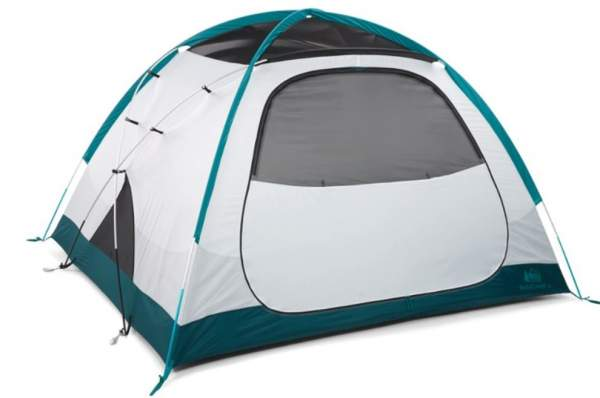 REI Co-op Base Camp 4 Tent without the fly.