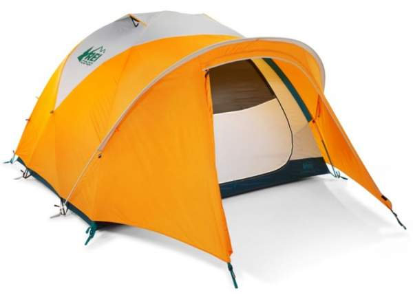 REI Co-op Base Camp 4 Tent.