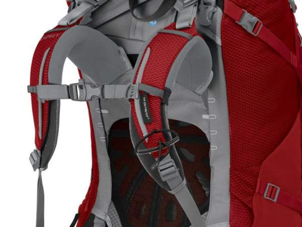 This is the new shoulder harness and suspension in Aether & Ariel Plus packs.