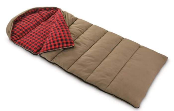 Guide Gear Canvas Hunter Extreme Sleeping Bag -30.
