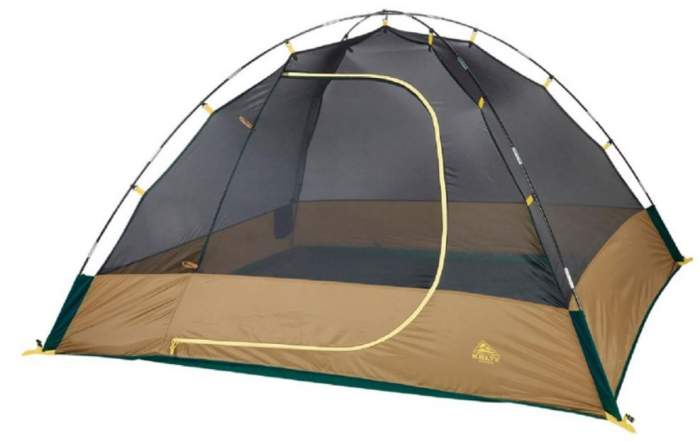 The inner tent without the fly.