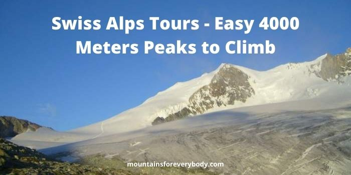 Swiss Alps Tours - Easy 4000 Meters Peaks to Climb