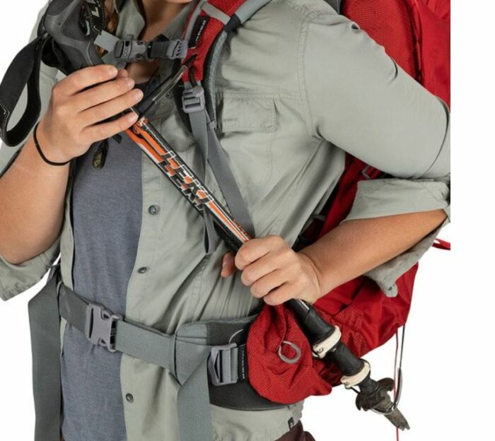 Stove-on-the-Go attachment system for poles.