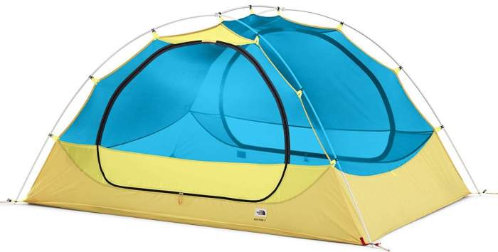This is the tent without the fly.
