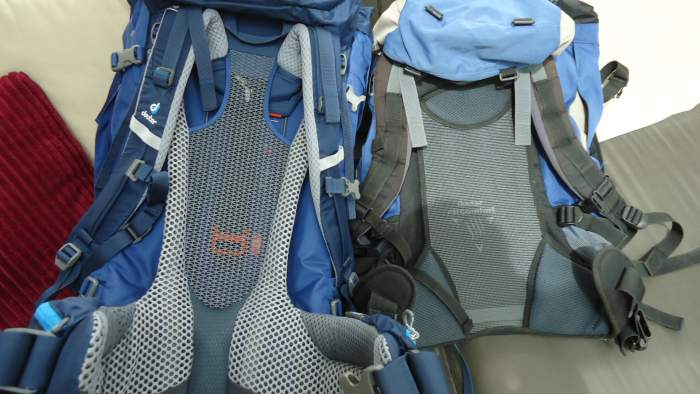 My 18 years old Deuter Futura on the right.